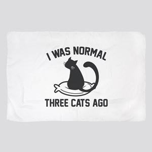I Was Normal Three Cats Ago Scarf