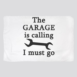 The Garage Is Calling I Must Go Scarf