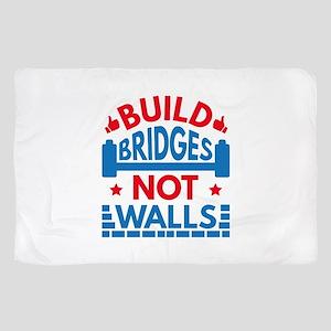 Build Bridges Not Walls Scarf