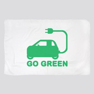 Go Green ~ Drive Electric Cars Scarf