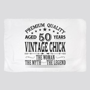 VINTAGE CHICK AGED 50 YEARS Sheer Scarf