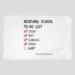Nursing Student To-Do List Scarf