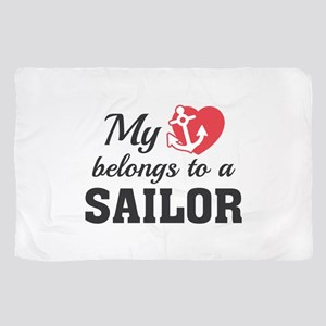 Heart Belongs Sailor Scarf