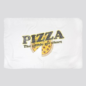 Pizza edible pie chart Scarf