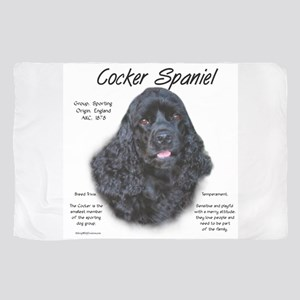 Cocker Spaniel (black) Sheer Scarf