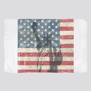 Vintage Statue Of Liberty Scarf
