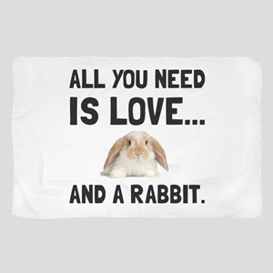 Love And A Rabbit Scarf