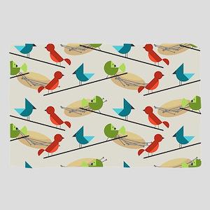 Mid Century Birds Scarf