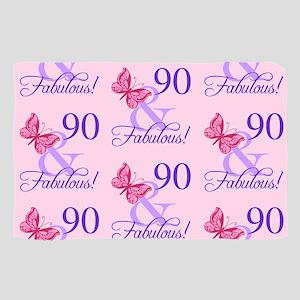 90 & Fabulous Birthday Scarf