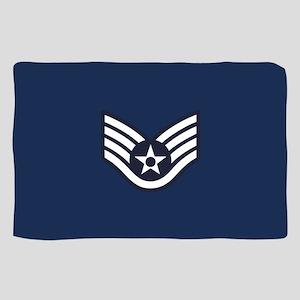 USAF: SSgt E-5 (Blue) Sheer Scarf