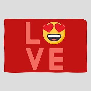 Love Emoji Sheer Scarf