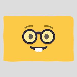 Nerdy Emoji Face Sheer Scarf