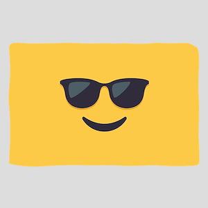 Sunglasses Emoji Face Sheer Scarf