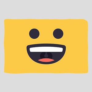 Happy Emoji Face Sheer Scarf