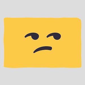 Unamused Emoji Face Sheer Scarf