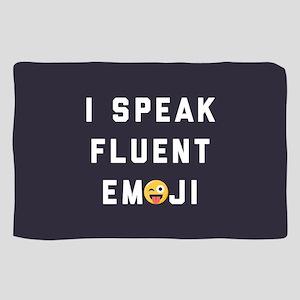 I Speak Fluent Emoji Sheer Scarf