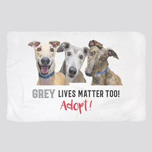 Grey Lives Matter Too ADOPT! Scarf