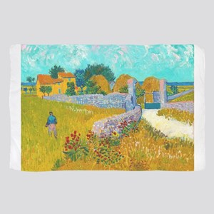Farmhouse in Provence by Vincent van Gogh Scarf