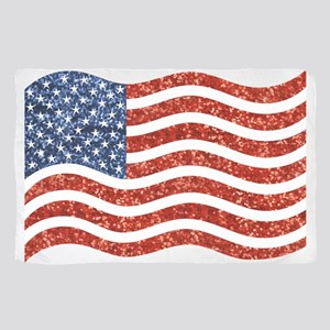 sequin american flag Scarf