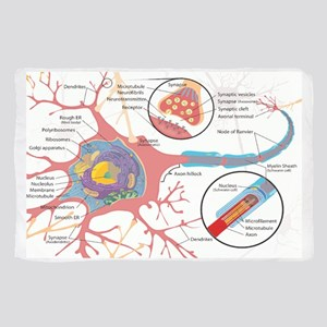 Neuron Cell Diagram Scarf