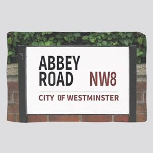 Abbey Road street sign Scarf