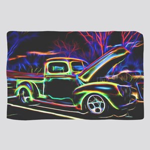 1940 Ford Pick up Truck Neon Scarf