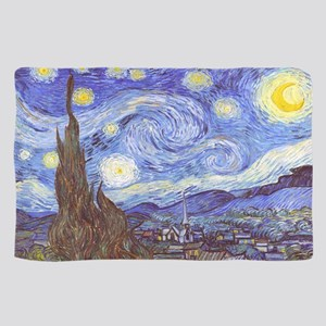 Starry Night, Van Gogh Sheer Scarf