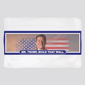 MR. TRUMP, BUILD THAT WALL Scarf