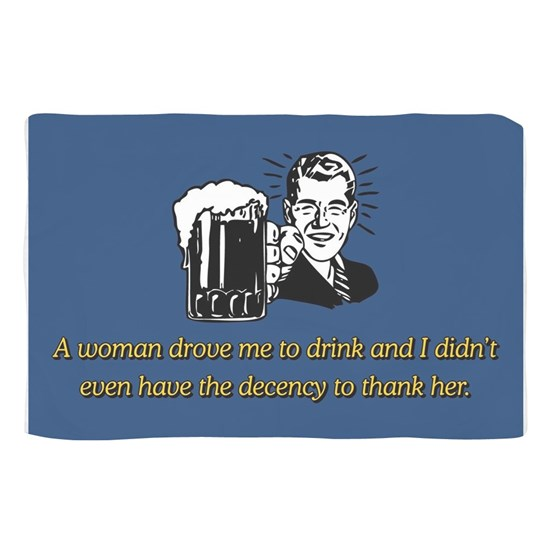 A WOMAN DROVE ME