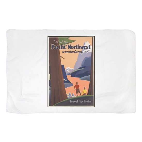 Pacific Northwest Vintage Art