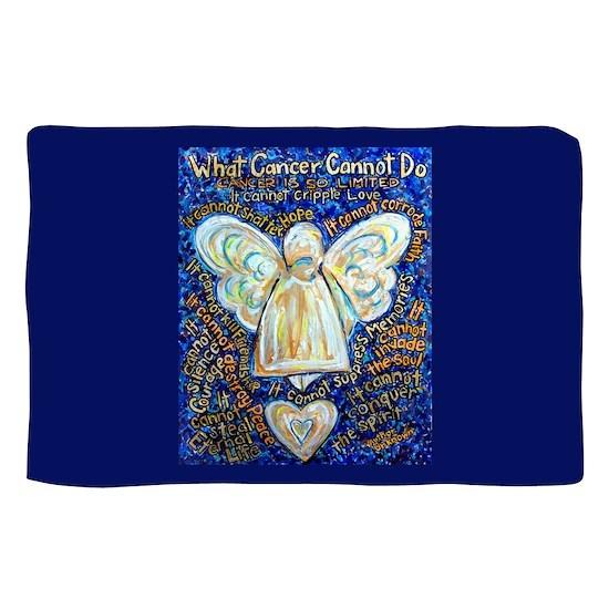 Blue & Gold Cancer Angel