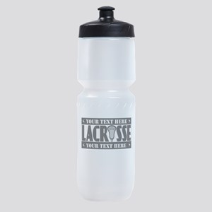 Lacrosse Blackout Personalize Sports Bottle