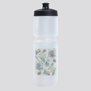 Musial Notes Sports Bottle