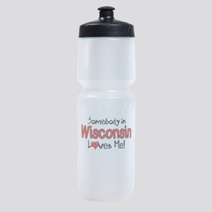 Somebody - Wisconsin Sports Bottle