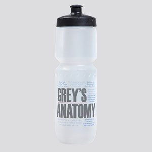 Grey's Anatomy Quotes Sports Bottle