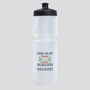 This Is My Burundi Country Sports Bottle