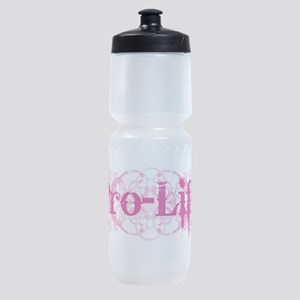 Pro-Life (pink) Sports Bottle