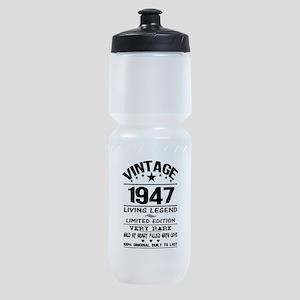 VINTAGE 1947-LIVING LEGEND Sports Bottle