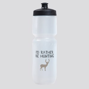 I'd rather be hunting Sports Bottle