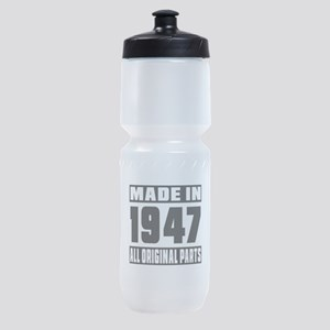 Made In 1947 Sports Bottle