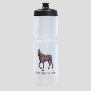 Personalized Horse Sports Bottle