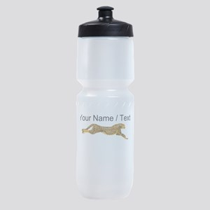 Custom Cheetah Sports Bottle
