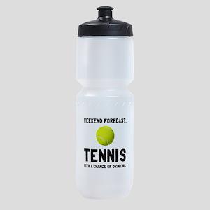 Weekend Forecast Tennis Sports Bottle