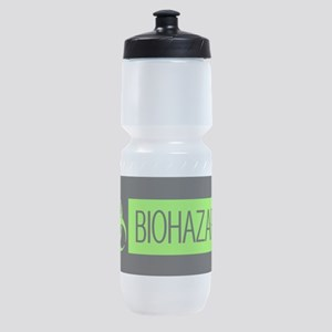 HAZMAT: Biohazard (Slime Green & Bla Sports Bottle