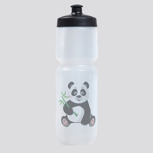 Panda with Bamboo-3 Sports Bottle