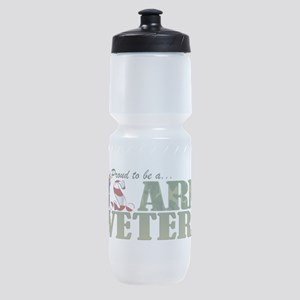 Proud US Army Veteran Sports Bottle