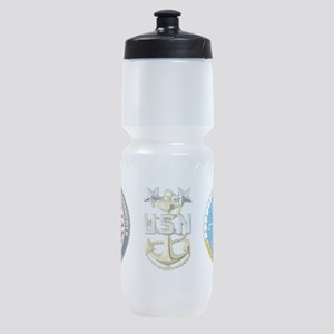 CVN-69 USS Eisenhower Sports Bottle