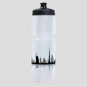 Dubai Skyline Cityscape Sports Bottle