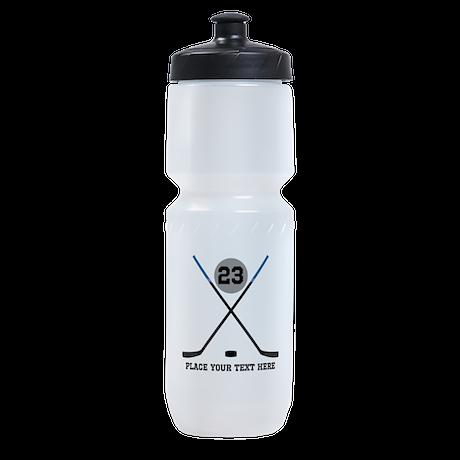 Ice Hockey Personalized Sports Bottle