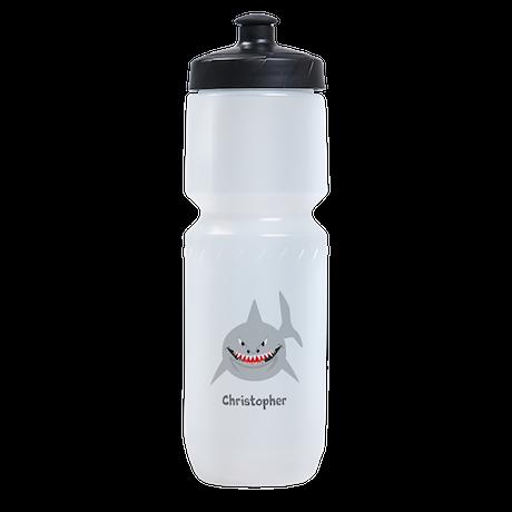 Personalized Shark Design Sports Bottle